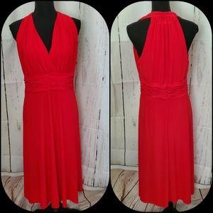 Jones Wear Sexy Dancing  Red Dress 💃